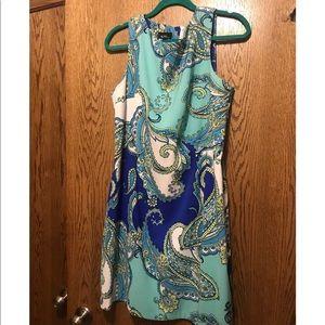 Paisley Dress — Size: 16
